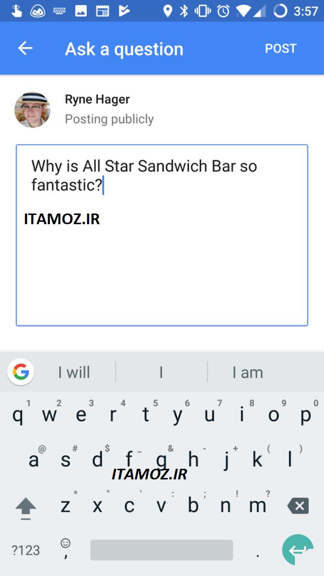 از گوگل مپ سوال بپرسید، جواب بگیرید