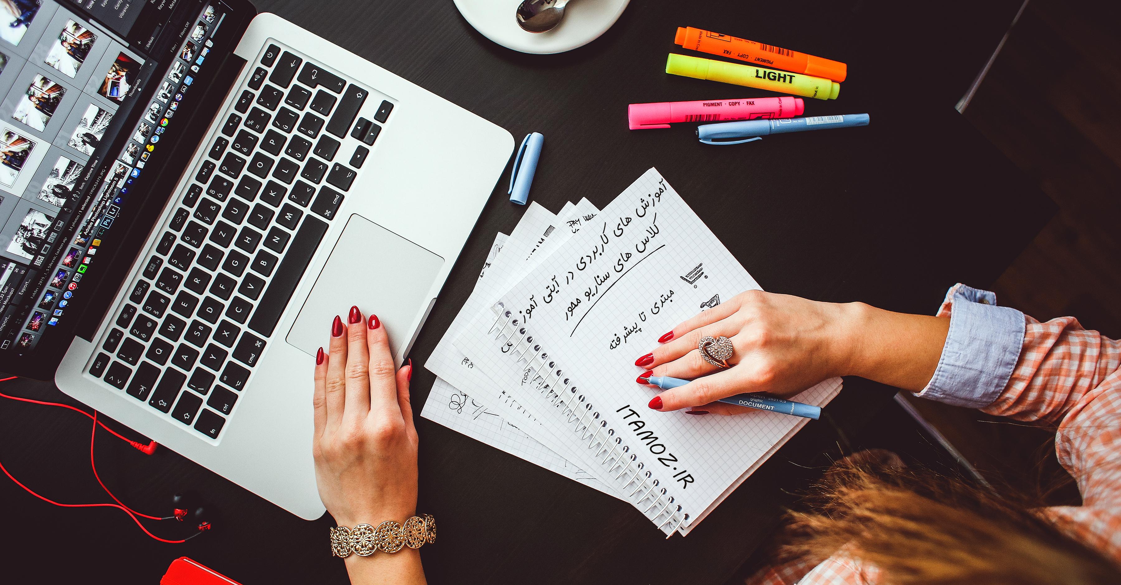 دفترچه یادداشت حرفه ای اندروید ، آیفون ، ویندوز و با قابلیت ذخیره خودکار