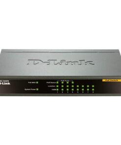 سوییچ غیر مدیریتی با 8 پورت10/100Base-T (با 4 پورت PoE 63W)